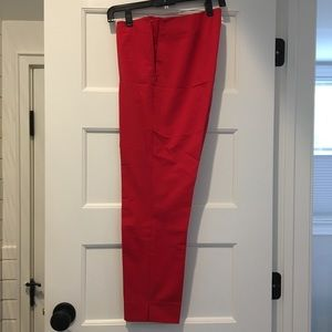 Lafayette Stanton Ankle Pant in Cherry Red